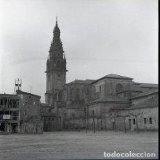 Postales: NEGATIVO ESPAÑA LA RIOJA SANTO DOMINGO DE LA CALZADA 1973 KODAK 55MM GRAN FORMATO FOTO. Lote 204556686