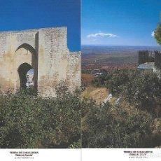 Postales: TIERRA DE CABALLEROS (TABLAS DE DAIMIEL) TRES POSTALES. Lote 205035552
