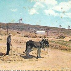 Postales: MOTA DEL CUERVO (LA MANCHA) 1965. Lote 205036511