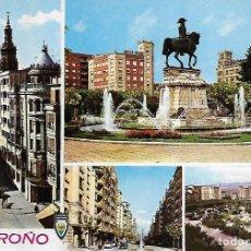 Postales: LOGROÑO -CUATRO VISTAS. Lote 205053270
