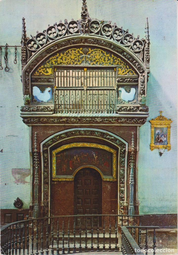 SANTO DOMINGO DE LA CALZADA, DETALLE DE LA CATEDRAL - EDITA BEASCOA Nº 5601 - S/C (Postales - España - La Rioja Moderna (desde 1.940))