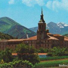 Postales: SAN MILLÁN DE LA COGOLLA, MONASTERIO DE YUSO, PANORÁMICA - ESCUDO DE ORO Nº 1 - S/C. Lote 206360628