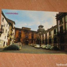 Postales: POSTAL DE LOGROÑO. Lote 206825062
