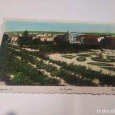 Cartes Postales: LA RIOJA - POSTAL LOGROÑO - EL ESPOLÓN. Lote 207223097