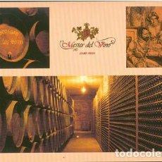 Cartes Postales: POSTAL CLUB MESTER DEL VINO BODEGAS CARLOS SERRES HARO LA RIOJA 1995. Lote 207232102