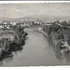 Cartes Postales: LOGROÑO -ANTIGUA POSTAL - VISTA GENERAL - FOTO SICILIA- CIRCULADA EL 5- 8- 1.957. Lote 209755803