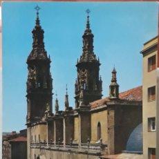 Postales: POSTAL N°8 CATEDRAL DE SANTA MARÍA DE LA REDONDA LOGROÑO. Lote 209895002