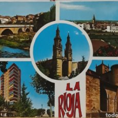 Postales: POSTAL N°7458 LA RIOJA DIVERSOS ASPECTOS. Lote 209895585