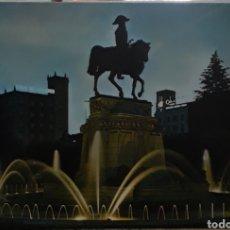 Postales: POSTAL N°3 MONUMENTO A ESPARTERO LOGROÑO. Lote 209897035