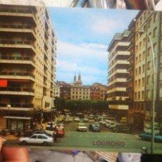 Postales: POSTAL LOGROÑO AVENIDA JOSÉ ANTONIO Y VISTA PARCIAL N 48 CALPEÑA S/C. Lote 210341041