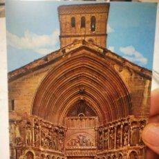 Postales: POSTAL LOGROÑO IGLESIA DE SAN BARTOLOMÉ N 7419 CALPEÑA S/C. Lote 210389847