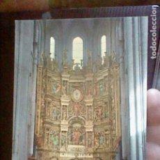 Cartes Postales: SANTO DOMINGO CALZADA RETABLO CATEDRAL ED INTER Nº 3 S/C 15 X 10,5 CMS. Lote 214550092