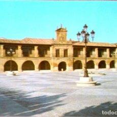 Postais: SANTO DOMINGO DE LA CALZADA (LOGROÑO). AYUNTAMIENTO Y PLAZA DE ESPAÑA. NUEVA. COLOR. Lote 215052778