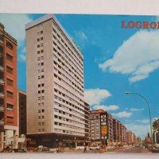 Cartes Postales: LOGROÑO - AVENIDA DE D. JUAN CARLOS I - LMX - LR. Lote 216589886