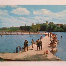 Cartes Postales: LOGROÑO - PISCINAS EN EL RÍO EBRO - LMX - LR. Lote 216591607