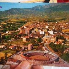 Cartes Postales: POSTAL HARO LOGROÑO VISTA AÉREA N 673 PARIS S/C. Lote 218286938