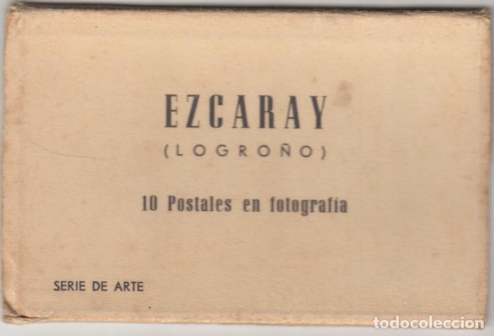 EZCARAY: 10 POSTALES EN FOTOGRAFIA PATROCINADO POR EL AYUNTAMIENTO / 1960 (Postales - España - La Rioja Moderna (desde 1.940))