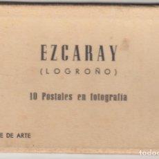 Postales: EZCARAY: 10 POSTALES EN FOTOGRAFIA PATROCINADO POR EL AYUNTAMIENTO / 1960. Lote 218763095