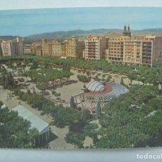 Postales: POSTAL DE LOGROÑO : PLAZA DEL ESPOLON . AÑOS 60. Lote 218802532