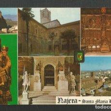Postales: POSTAL SIN CIRCULAR - SANTUARIO SANTA MARIA LA REAL 19 - NAJERA - LOGROÑO - EDITA ESCUDO DE ORO. Lote 219232477