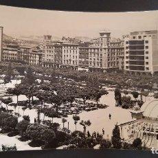 Cartoline: POSTAL LOGROÑO VISTA GENERAL PASEO DEL ESPOLON. EDICIONES L. MONTAÑES P476. Lote 220669137