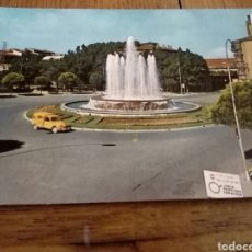 Postales: POSTAL DE LOGROÑO LA RIOJA DE LA FUENTE DE LA PLAZAMARQUES MURRIETA N 7 DE ALARDE. Lote 221396215