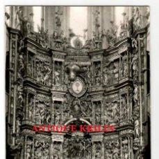 Postales: SANTO DOMINGO DE LA CALZADA Nº 15 CATEDRAL , ALTAR MAYOR .- EDICIONES MONTAÑES. Lote 221403380