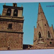 Postales: POSTAL. 127. LOGROÑO. TORRE Y AGUJA DEL PALACIO. ED. PARÍS. NO ESCRITA.. Lote 221837983