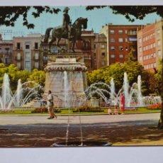 Postales: POSTAL. 191. LOGROÑO. FUENTE DEL GENERAL ESPARTERO. ED. PARÍS. NO ESCRITA.. Lote 221838111