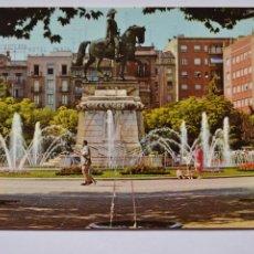 Postales: POSTAL. 191. LOGROÑO. FUENTE DEL GENERAL ESPARTERO. ED. PARÍS. NO ESCRITA.. Lote 221838306