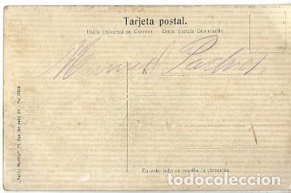 Postales: ANTIGUA POSTAL LOGROÑO EL MURO DE CERVANTES - Foto 2 - 222557491