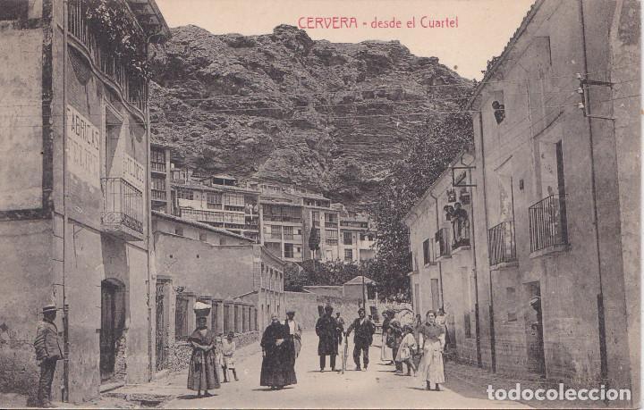 CERVERA DEL RIO ALHAMA (LA RIOJA) - DESDE EL CUARTEL - CLICHES ARRIBAS (Postales - España - La Rioja Moderna (desde 1.940))