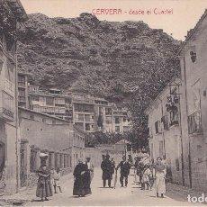 Postales: CERVERA DEL RIO ALHAMA (LA RIOJA) - DESDE EL CUARTEL - CLICHES ARRIBAS. Lote 224661823