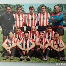 Postales: C. D. LOGROÑES. EQUIPO DE FUTBOL. CAMPEON DE 3ª DIVISION 1969-70.. Lote 228176470