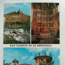 Cartes Postales: SAN VICENTE DE LA SONSIERRA, LA RIOJA. STA. MARIA LA MAYOR Y CASTILLO.. Lote 231355995