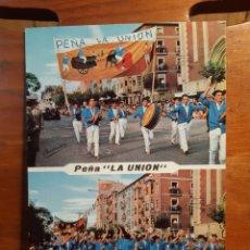 Postais: ANTIGUA POSTAL DE LA PEÑA LA UNIÓN DE LOGROÑO 1965. Lote 234034960