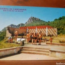 Postales: ANTIGUA POSTAL DE SIERRA DE CANTABRIA EN LA RIOJA. Lote 235048275