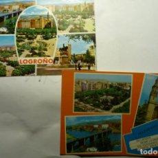 Postales: LOTE POSTALES LOGROÑO CM. Lote 235384610