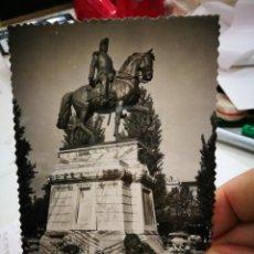 Postales: POSTAL LOGROÑO MONUMENTO AL GENERAL ESPARTERO N 37 SICILIA 1958 ESCRITA Y BELLAMENTE SELLADA. Lote 235479610