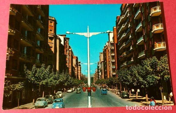 LOGROÑO (CAPITAL) 7401 CALLE VARA DE REY -ED. CALPEÑA-CIRCULADA-AÑOS 60-LA RIOJA (Postales - España - La Rioja Moderna (desde 1.940))