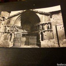 Postales: ANTIGUA POSTAL FOTOGRAFÍCA, LOGROÑO, PÓRTICO DE SAN BARTOLOME. Lote 237015495
