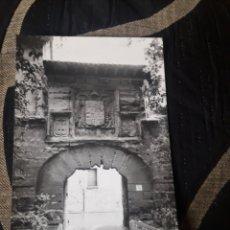 Postales: ANTIGUA POSTAL FOTOGRAFÍCA DE LOGROÑO, PUERTA DEL REBELLIN. Lote 238199880