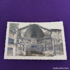 Cartoline: POSTAL DE LOGROÑO (LA RIOJA). Nº19 PORTADA DE SAN BARTOLOME. EDIC ARRIBAS.. Lote 240016050