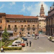 Postales: EM0013 HARO PLAZA DE LA PAZ 1968 GARRABELLA Nº5 CIRCULADA RENAULT 4 8 2CV 600 SIMCA 1000 GORDINI. Lote 242858805