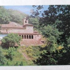 Postales: POSTAL, MONASTERIO DE SAN MILLAN DE SUSO, EXTERIOR. Lote 243833175