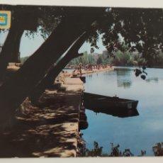 Postales: POSTAL 12 LOGROÑO PISCINA MUNICIPAL. Lote 244638685