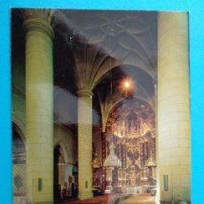 Postales: ARNEDO (LOGROÑO) PARROQUIA DE SAN COSME Y SAN DAMIAN ALTAR MAYOR. ED. SICILIA Nº4.. Lote 244739505