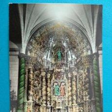 Postales: ARNEDO ALTAR MAYOR PARROQUIA DE LOS SANTOS EDICIONES MONTAÑES Nº1.. Lote 244739870