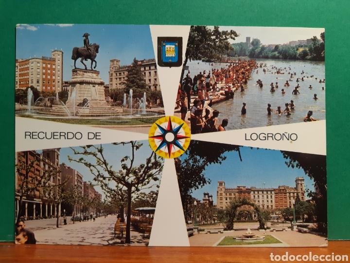 ANTIGUA POSTAL DE LOGROÑO (Postales - España - La Rioja Moderna (desde 1.940))