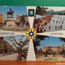 Postales: ANTIGUA POSTAL DE LOGROÑO. Lote 244867815